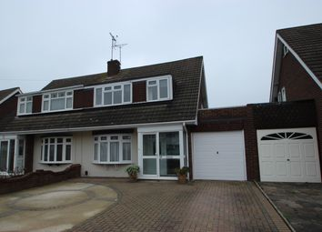 Thumbnail 3 bed semi-detached house to rent in Seamore Avenue, Benfleet, Essex