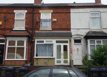 Thumbnail 3 bed terraced house to rent in Cheshire Road, Witton