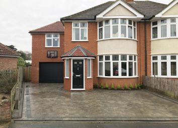 Thumbnail 4 bed semi-detached house for sale in Glenavon Road, Ipswich Suffolk