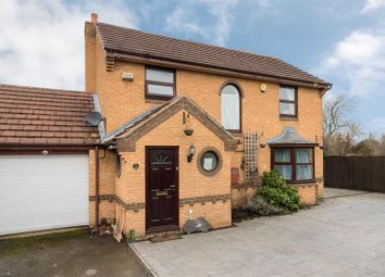 Thumbnail 4 bed detached house for sale in Cherrybrook Close, Leicester