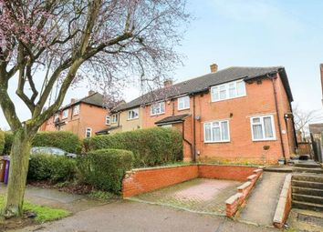 Thumbnail 3 bed end terrace house for sale in Hall Mead, Letchworth Garden City, Hertfordshire, England