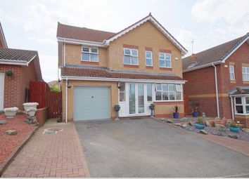 Thumbnail 4 bed detached house for sale in Troon Close, Blackhill, Consett