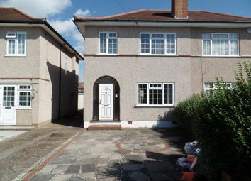 Thumbnail 3 bed semi-detached house to rent in Lansbury Drive, Hayes