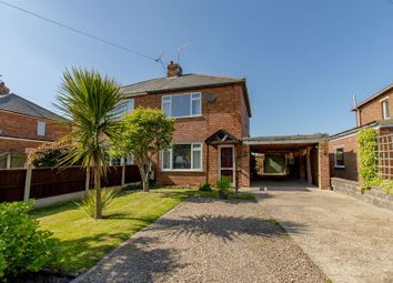 Thumbnail 3 bed semi-detached house for sale in Wood Lane, Beckingham, Doncaster