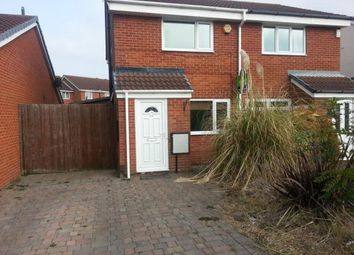 Thumbnail 2 bed semi-detached house to rent in Davenport Road, Yarm