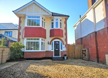 Thumbnail 3 bedroom detached house for sale in Dorchester Road, Oakdale, Poole