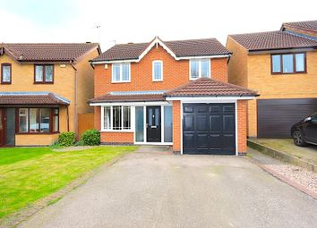 Thumbnail 4 bed detached house for sale in Plough Close, Leicester Forest East, Leicester