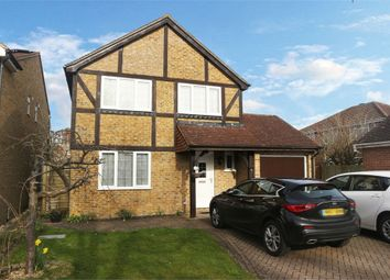 Thumbnail 4 bed detached house for sale in Wield Court, Lower Earley, Reading, Berkshire