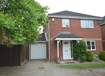 Thumbnail 3 bedroom detached house for sale in Hadley Drive, Norwich
