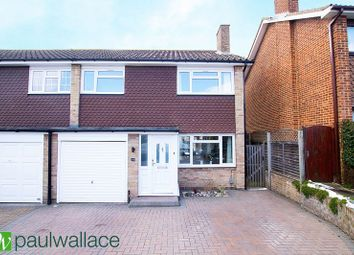 Thumbnail 3 bed semi-detached house for sale in Hilltop Close, Cheshunt, Waltham Cross