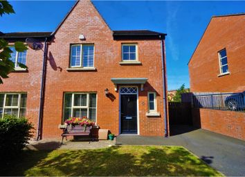 Thumbnail 4 bedroom town house for sale in Coopers Mill Avenue, Dundonald