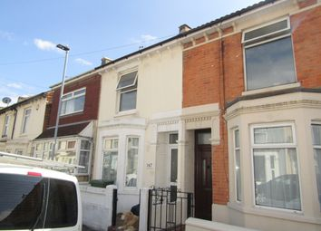 Thumbnail 2 bedroom terraced house to rent in Eastfield Road, Southsea