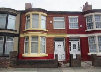 Thumbnail 3 bed terraced house for sale in Knoclaid Road, Liverpool