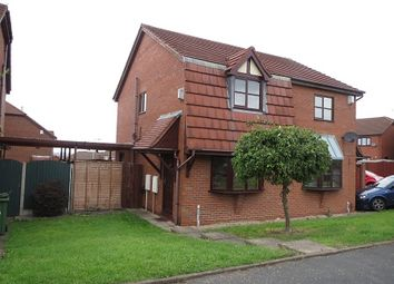 Thumbnail 2 bed semi-detached house to rent in Grosvenor Road, Milking Bank, Dudley
