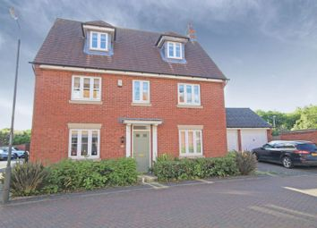 Thumbnail 5 bedroom detached house for sale in Anglia Drive, Church Gresley, Swadlincote