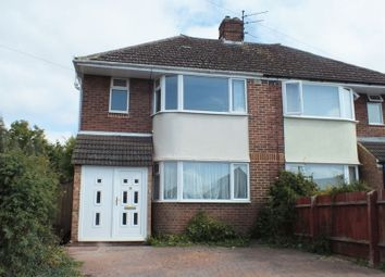 Thumbnail 3 bed semi-detached house to rent in Hazel Crescent, Kidlington