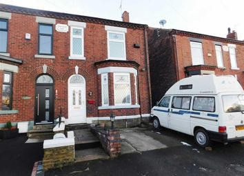Thumbnail 3 bedroom semi-detached house for sale in Station Road, Woodley, Stockport