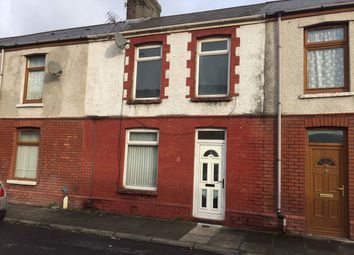 Thumbnail 3 bed terraced house to rent in Vivian Terrace, Aberavon