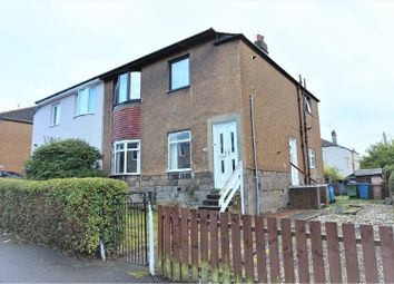 Thumbnail 3 bed flat for sale in Talla Road, Glasgow