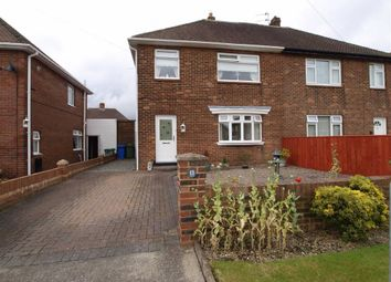 Thumbnail 3 bed semi-detached house for sale in Chatton Avenue, Cramlington