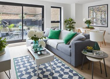 Thumbnail 2 bed flat for sale in The Tramshed Building, 45A Goldhawk Road, Shepherds Bush, London