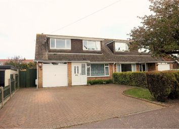 Thumbnail 3 bed semi-detached house for sale in Nelson Park Road, Dover