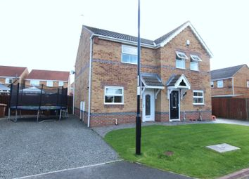 Thumbnail 2 bedroom semi-detached house for sale in Hunworth Close, Havelock Park, Sunderland