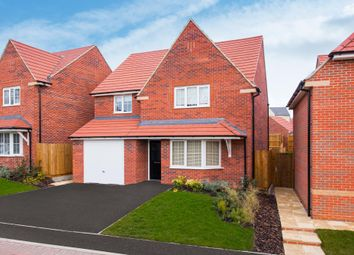 "Thumbnail 4 bedroom detached house for sale in ""Harrogate"" at Stanley Close, Corby"