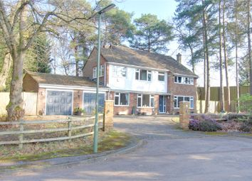 Thumbnail 4 bed detached house for sale in Burgoyne Road, Camberley, Surrey