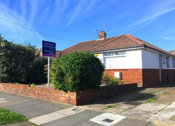 Thumbnail 2 bed bungalow to rent in Valley Road, Portslade, Brighton