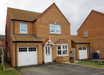 Thumbnail 4 bed detached house for sale in Marris Way, Caistor