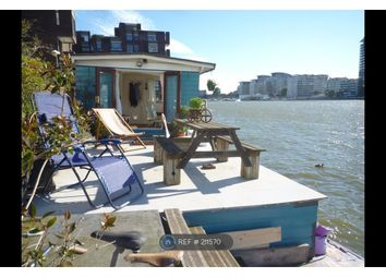 Thumbnail 1 bed houseboat to rent in Battersea Church Rd, London