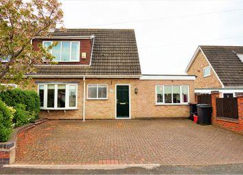 Thumbnail 4 bed semi-detached house for sale in Fenton Crescent, Measham, Swadlincote