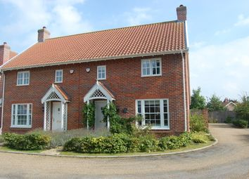 Thumbnail 4 bedroom semi-detached house for sale in Millers Way, Framlingham, Woodbridge