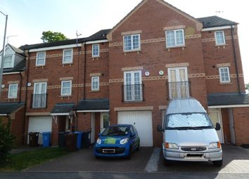 Thumbnail 4 bed town house to rent in Philip Larkin Close, Inglemire Lane, Hull