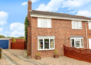 Thumbnail 2 bed semi-detached house for sale in Wold Road, Pocklington, York