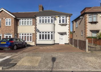 Thumbnail 3 bed semi-detached house for sale in Stanley Avenue, Gidea Park, Romford