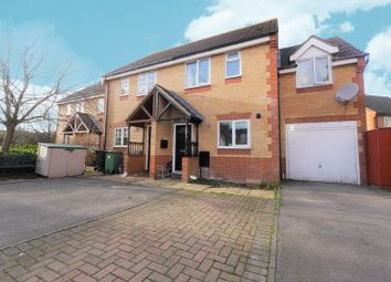 Thumbnail 3 bed semi-detached house to rent in Exe Close, Didcot