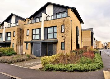 Thumbnail 3 bed semi-detached house for sale in Elderberry Close, Harold Wood, Romford