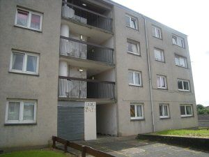 Thumbnail 2 bed flat to rent in Henryson Road, Dunfermline