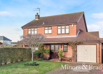 Thumbnail 4 bed detached house for sale in Nursery Close, Martham, Great Yarmouth