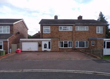 Thumbnail 3 bed semi-detached house for sale in Langlands, Lavendon, Olney, Buckinghamshire
