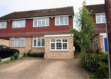 Thumbnail 4 bed semi-detached house for sale in Malm Close, Rickmansworth