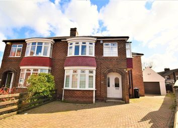 Thumbnail 4 bed semi-detached house for sale in Keswick Grove, Middlesbrough