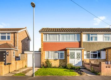 Thumbnail 3 bed semi-detached house for sale in The Saltings, Farlington, Portsmouth