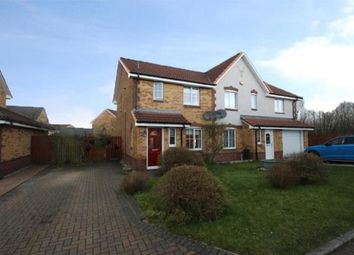 Thumbnail 3 bed semi-detached house for sale in Firbank Quadrant, Chapelhall, Airdrie, North Lanarkshire