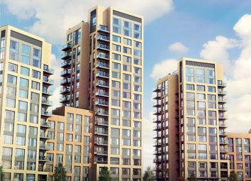 Thumbnail 1 bed flat for sale in Rainier Apartments, Morello, 43 Cherry Orchard Road, Croydon