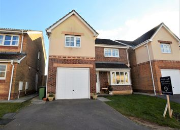 Thumbnail 4 bed detached house for sale in Blackthorn Court, Llanharry, Pontyclun