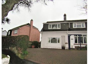 Thumbnail 2 bed semi-detached house for sale in Greenover Road, Brixham
