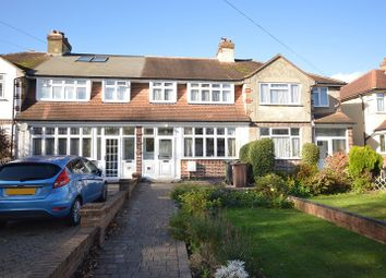 Thumbnail 3 bed terraced house for sale in Green Lanes, West Ewell, Surrey.
